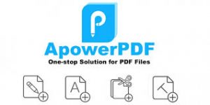ApowerPDF Crack 5.3.0 With Serial Key Full Version Get All Download